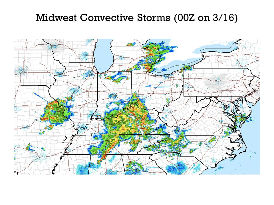Midwest Convective Storms (00Z on 3/16)