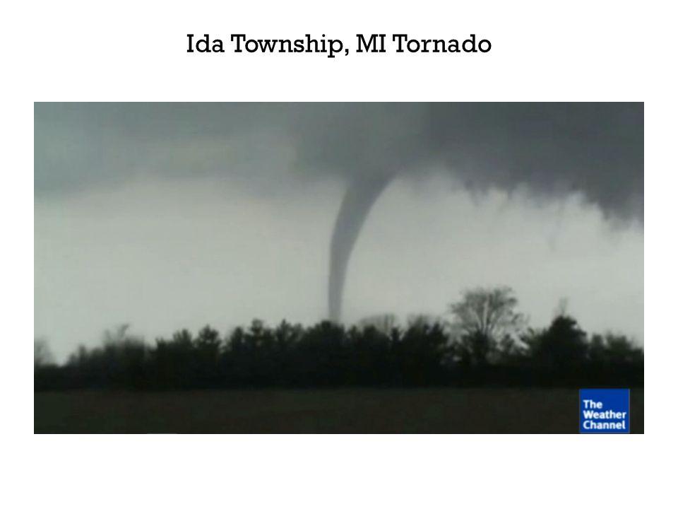 Ida Township, MI Tornado