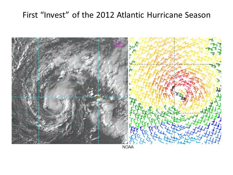 First Invest of the 2012 Atlantic Hurricane Season