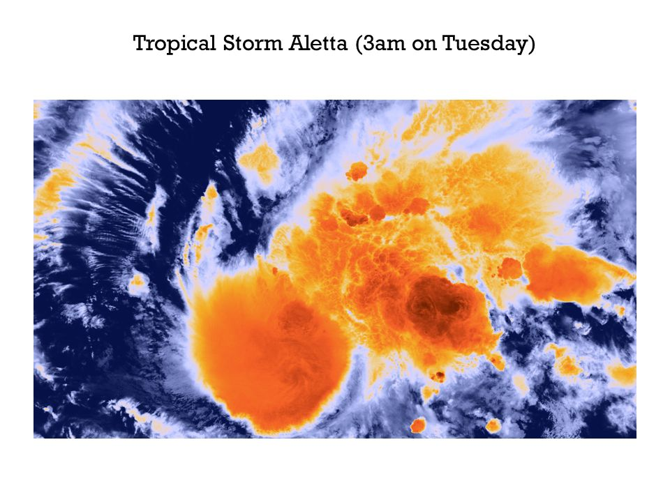 Tropical Storm Aletta (3am on Tuesday)