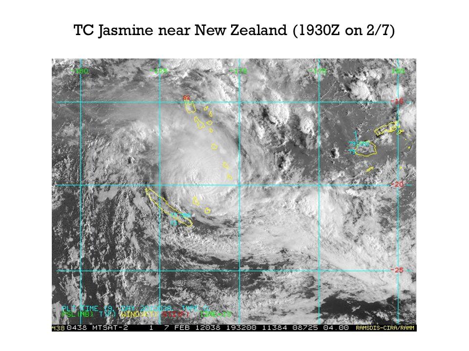 TC Jasmine near New Zealand (1930Z on 2/7)