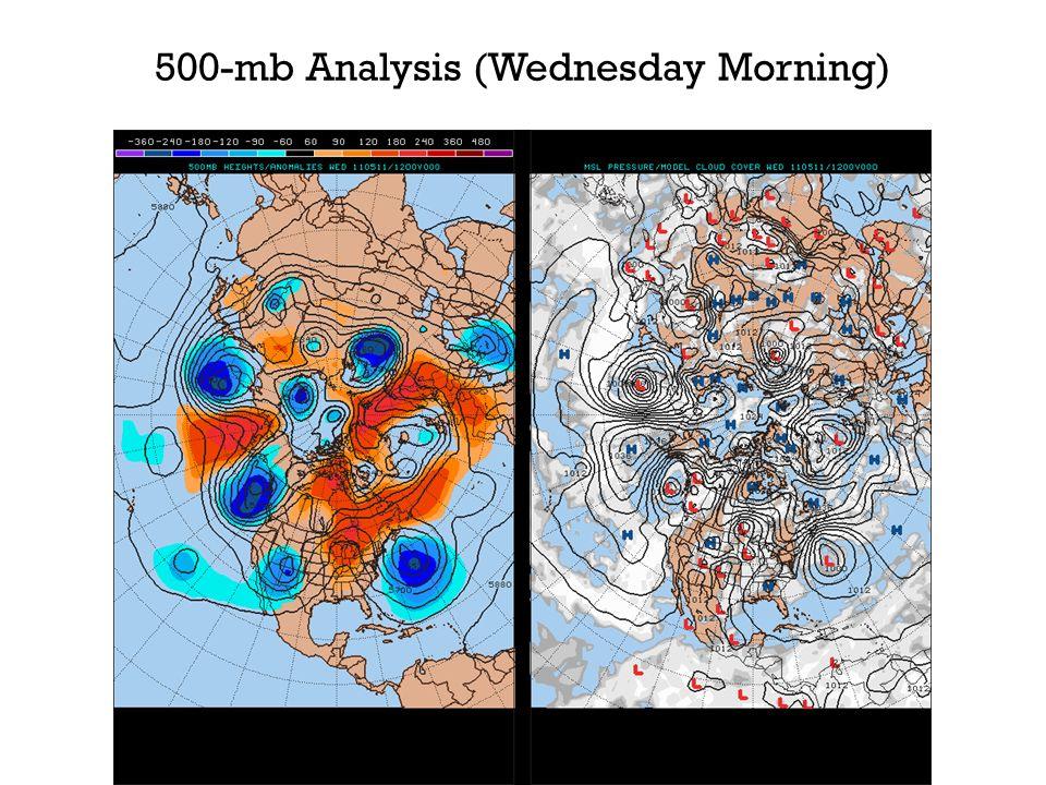 500-mb Analysis (Wednesday Morning)
