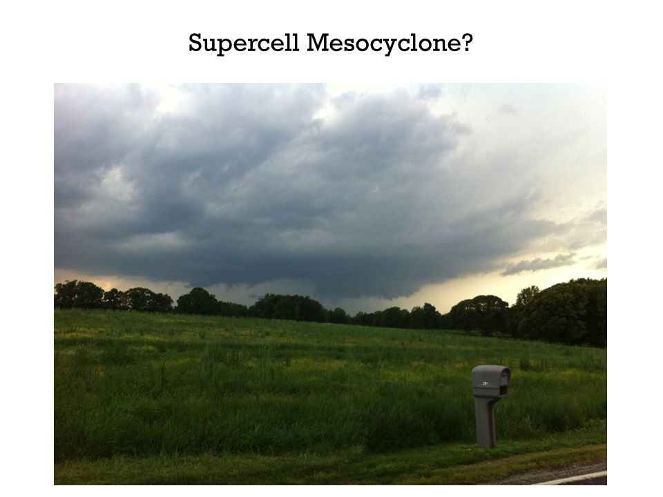 Supercell Mesocyclone