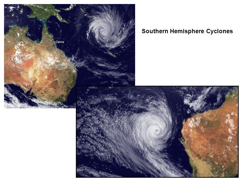 Southern Hemisphere Cyclones