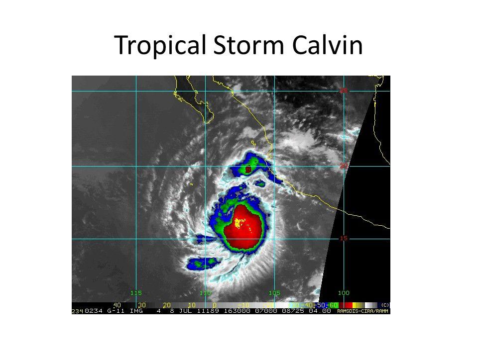Tropical Storm Calvin