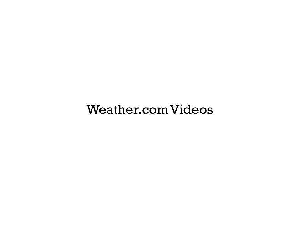 Weather.com Videos