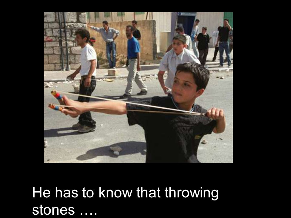 Because he is a Palestinian, thats why.