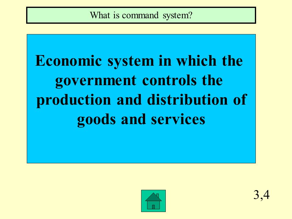 2,4 The use of resources to produce only a single or a few kinds of goods or services What is specialization?