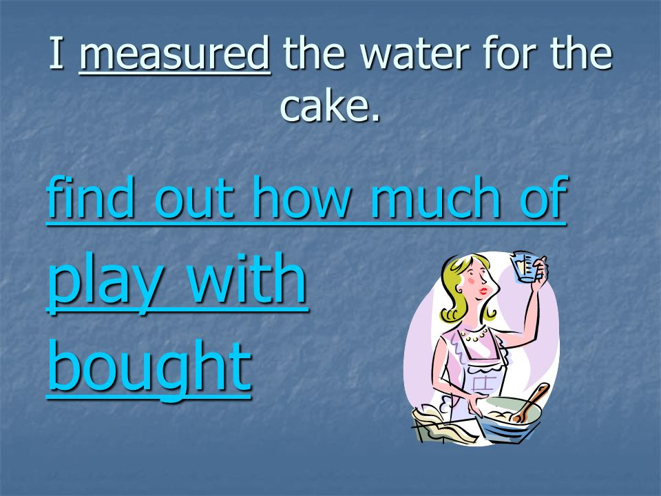 Treasure Pie and Bruno the Baker Vocabulary Practice
