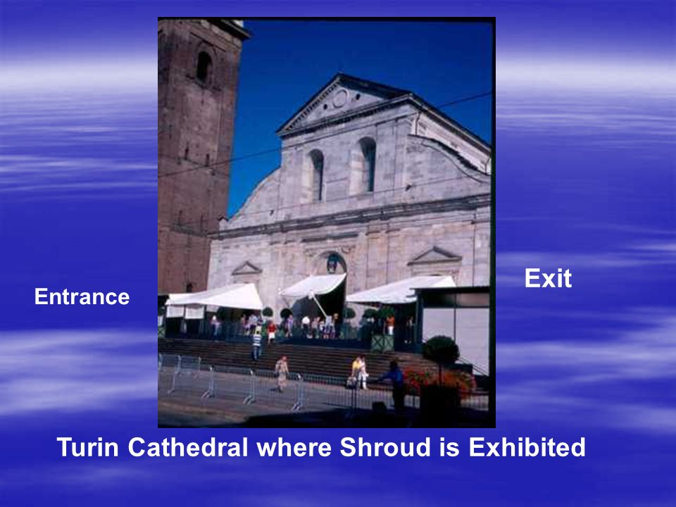 Entrance Exit Turin Cathedral where Shroud is Exhibited