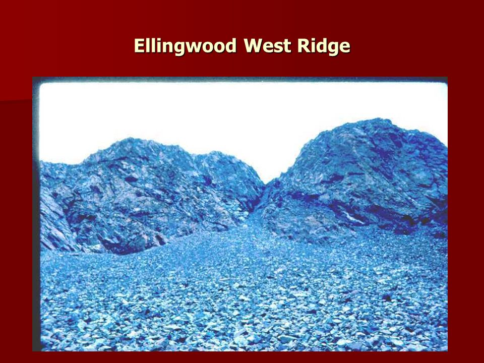 Ellingwood West Ridge