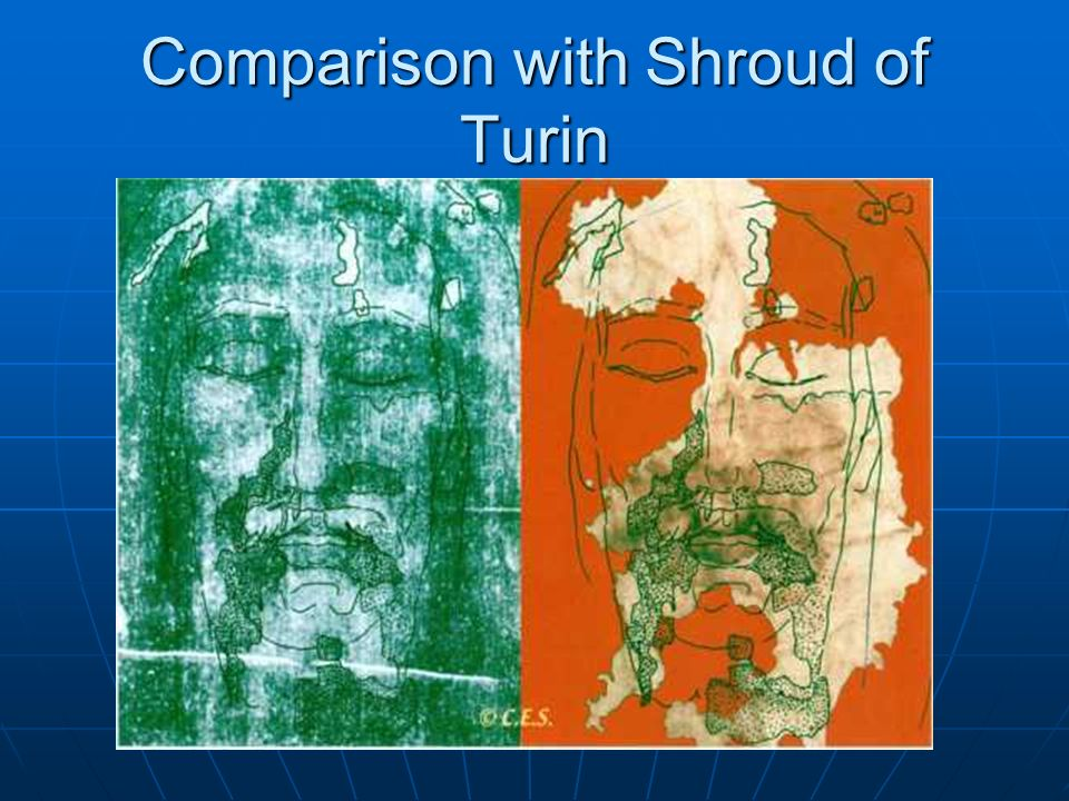 Comparison with Shroud of Turin