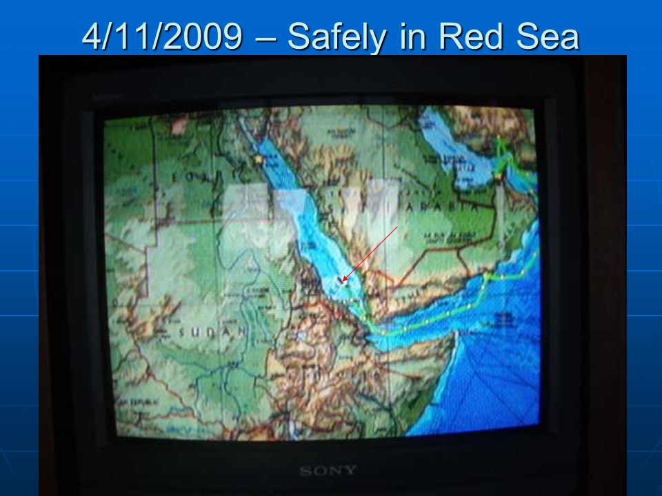 4/11/2009 – Safely in Red Sea
