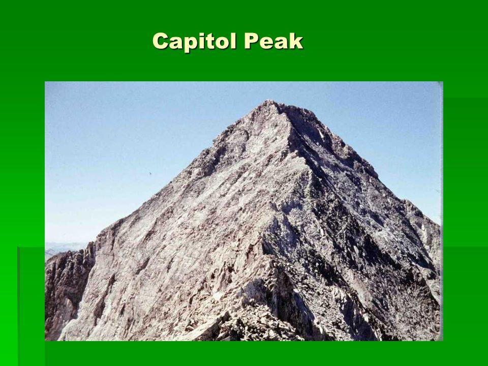 Capitol Peak Capitol Peak
