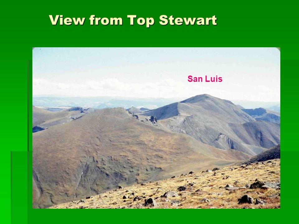 View from Top Stewart View from Top Stewart San Luis