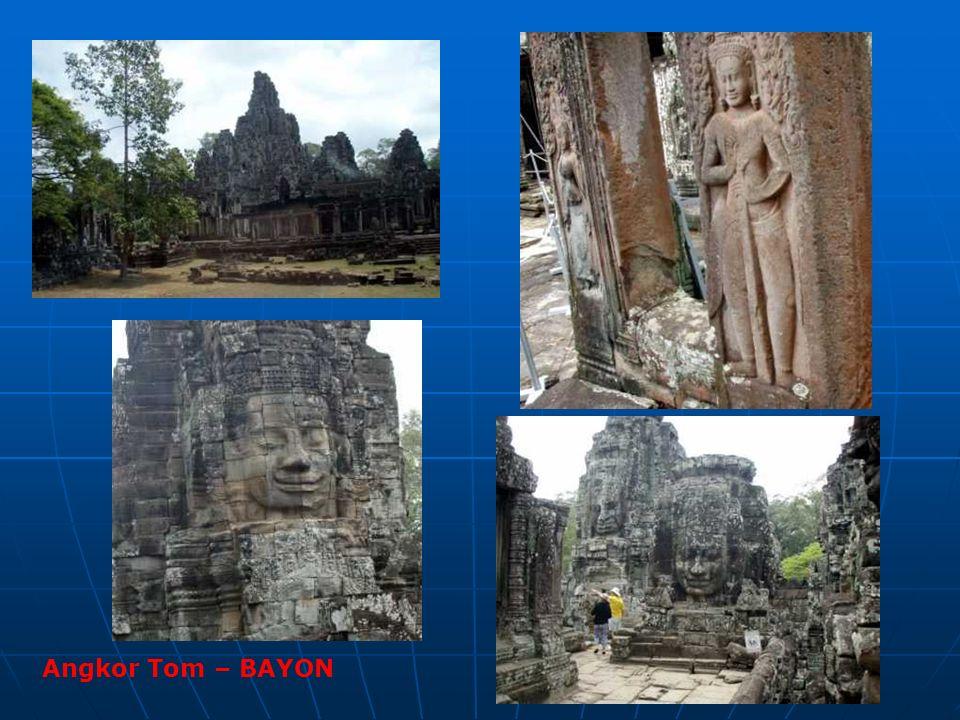 Angkor Tom – BAYON