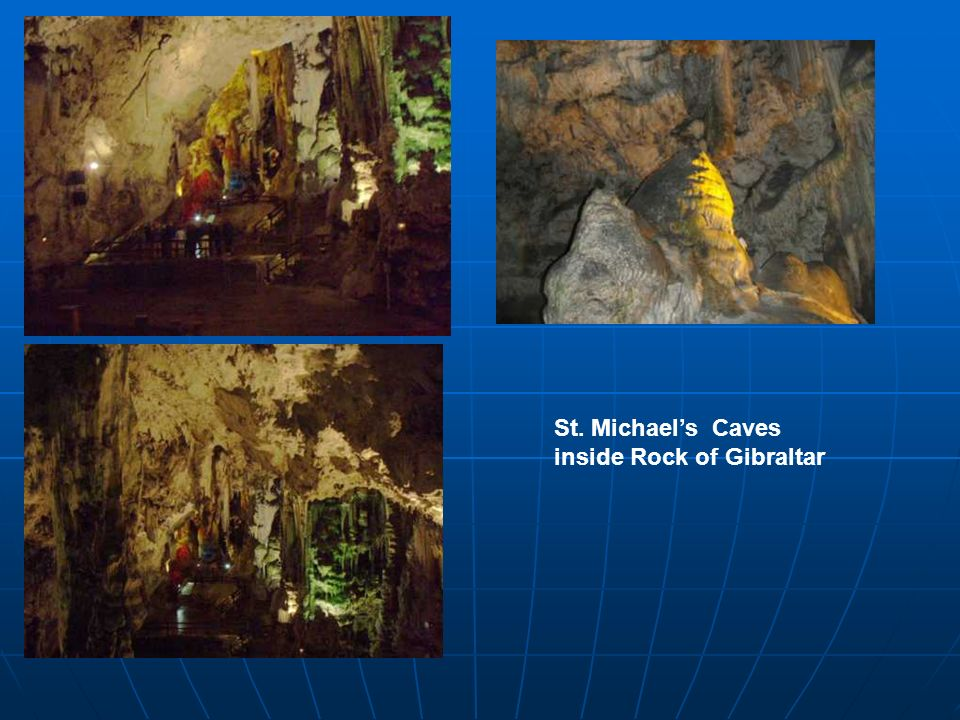 St. Michaels Caves inside Rock of Gibraltar