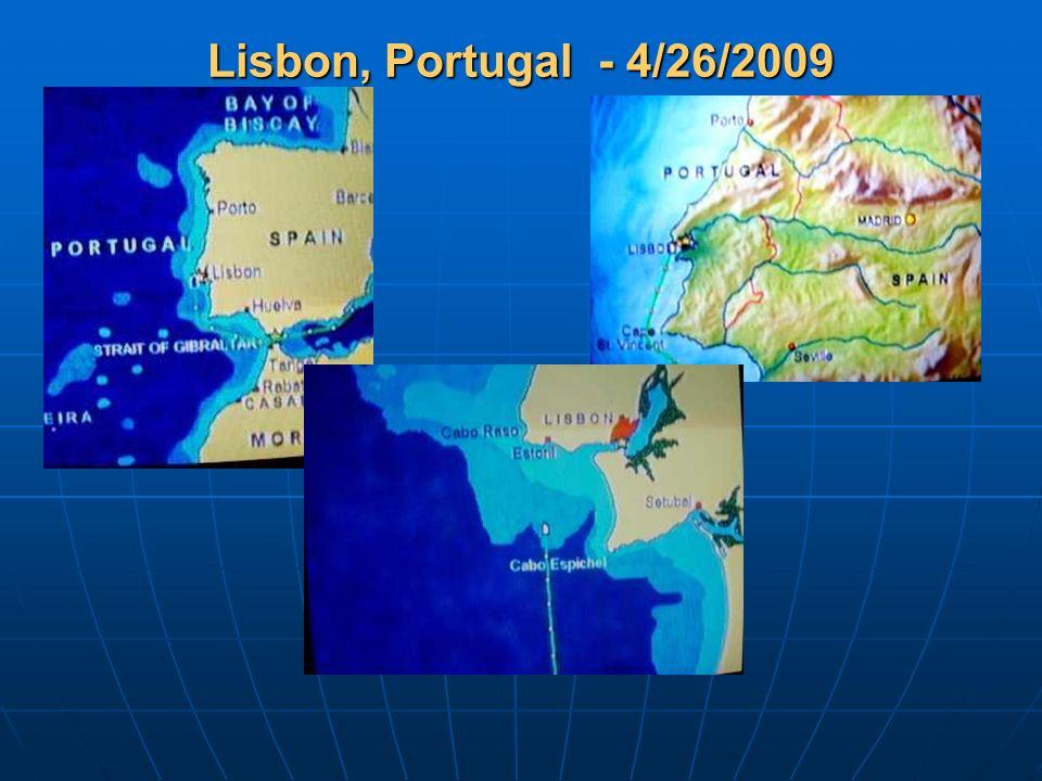 Lisbon, Portugal - 4/26/2009