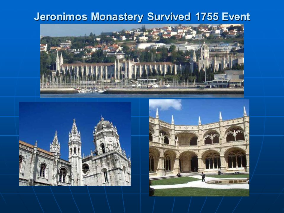 Jeronimos Monastery Survived 1755 Event