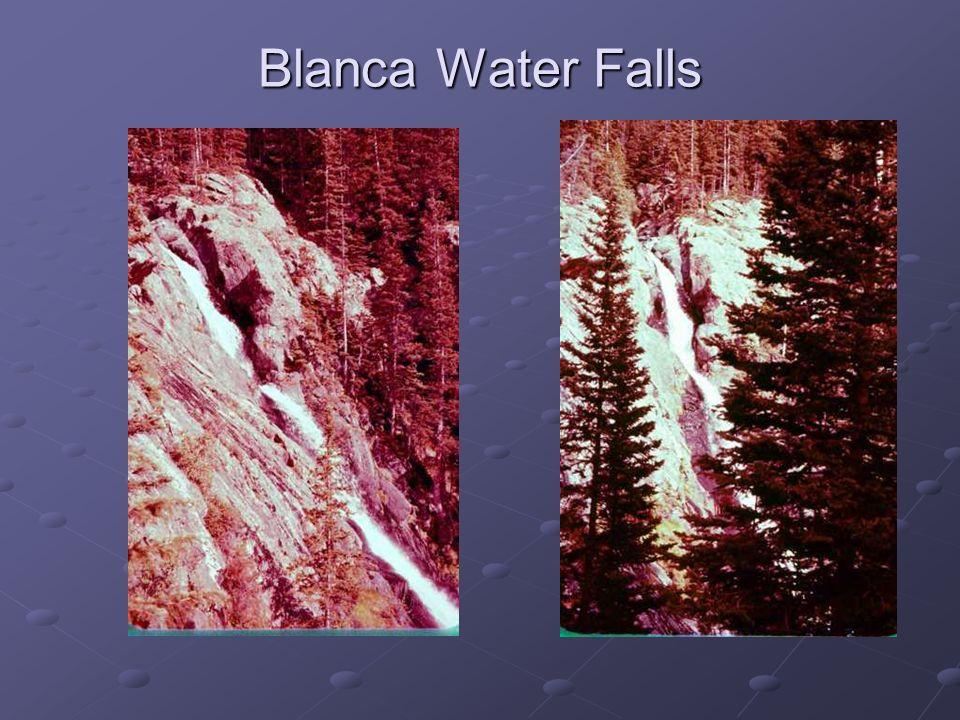 Blanca Water Falls