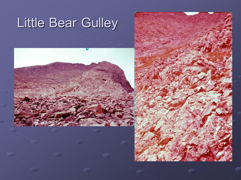 Little Bear Gulley