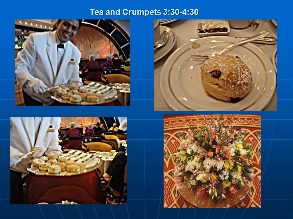 Tea and Crumpets 3:30-4:30