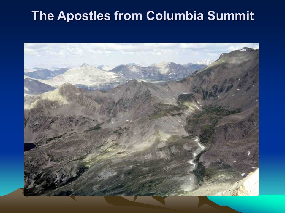The Apostles from Columbia Summit