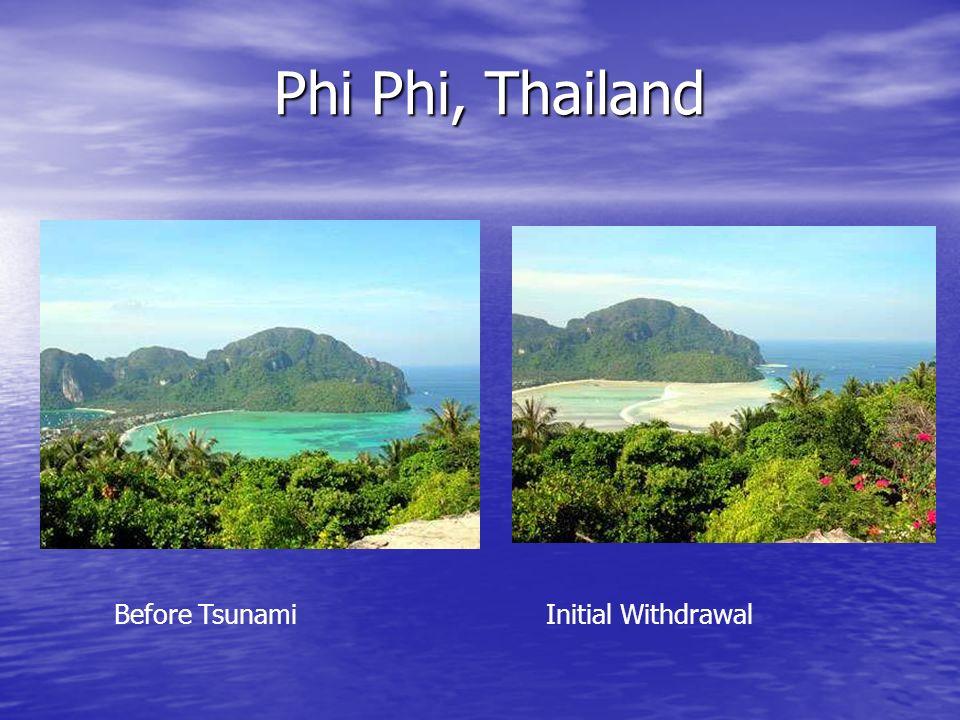 Phi Phi, Thailand Before Tsunami Initial Withdrawal