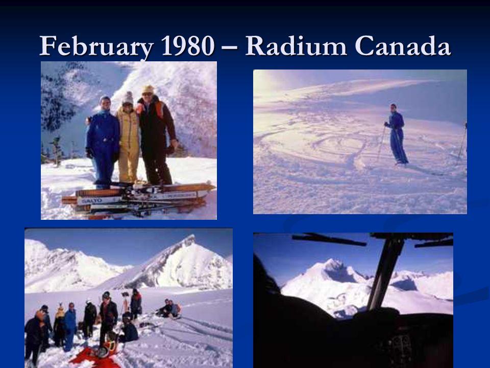 February 1980 – Radium Canada