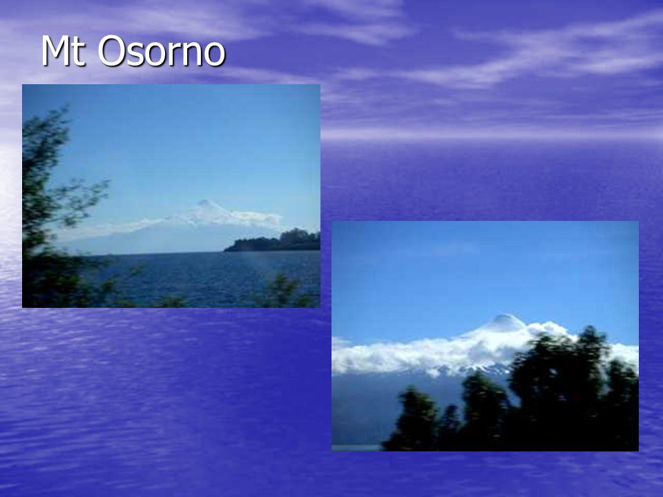 Mt Osorno