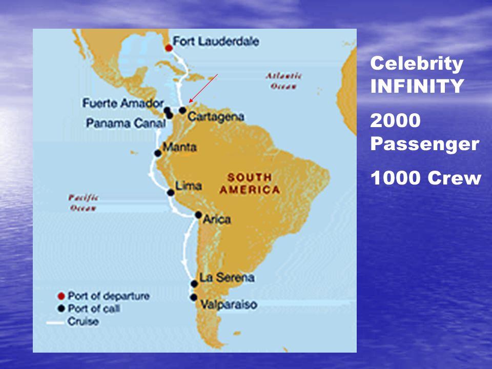 Celebrity INFINITY 2000 Passenger 1000 Crew