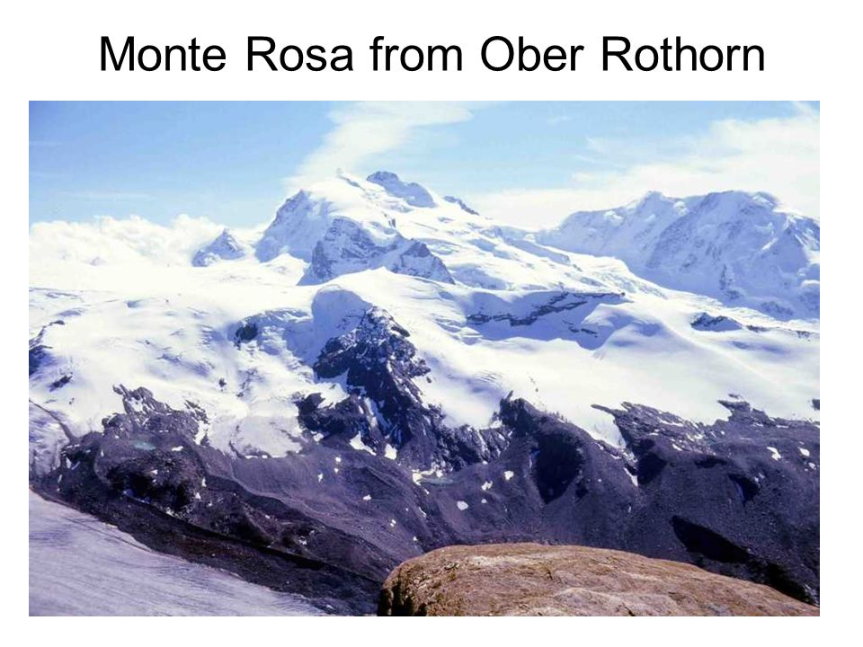 Monte Rosa from Ober Rothorn