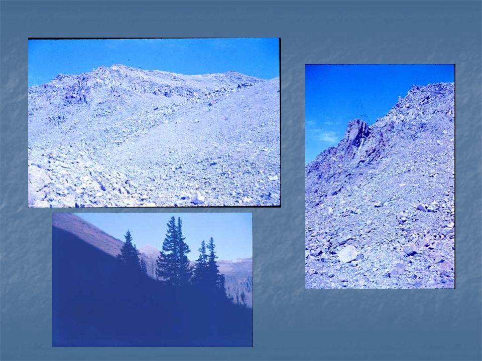 Crystal Peak, 6//24 /1982 - 13,852 ft 4.5 hrs up, 3.5 hr return With Bob Cowan