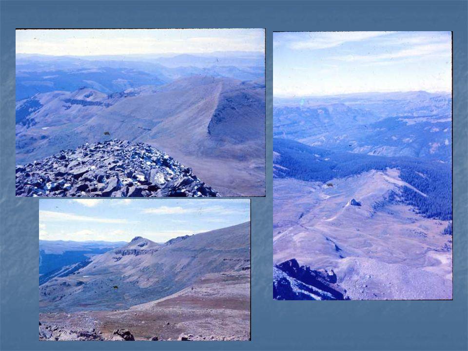 Emerald Peak – 9/1/1984 13,904 5.5 hr to Iowa, 1 hr to Emerald, 3.5 hr return With Bob Cowan