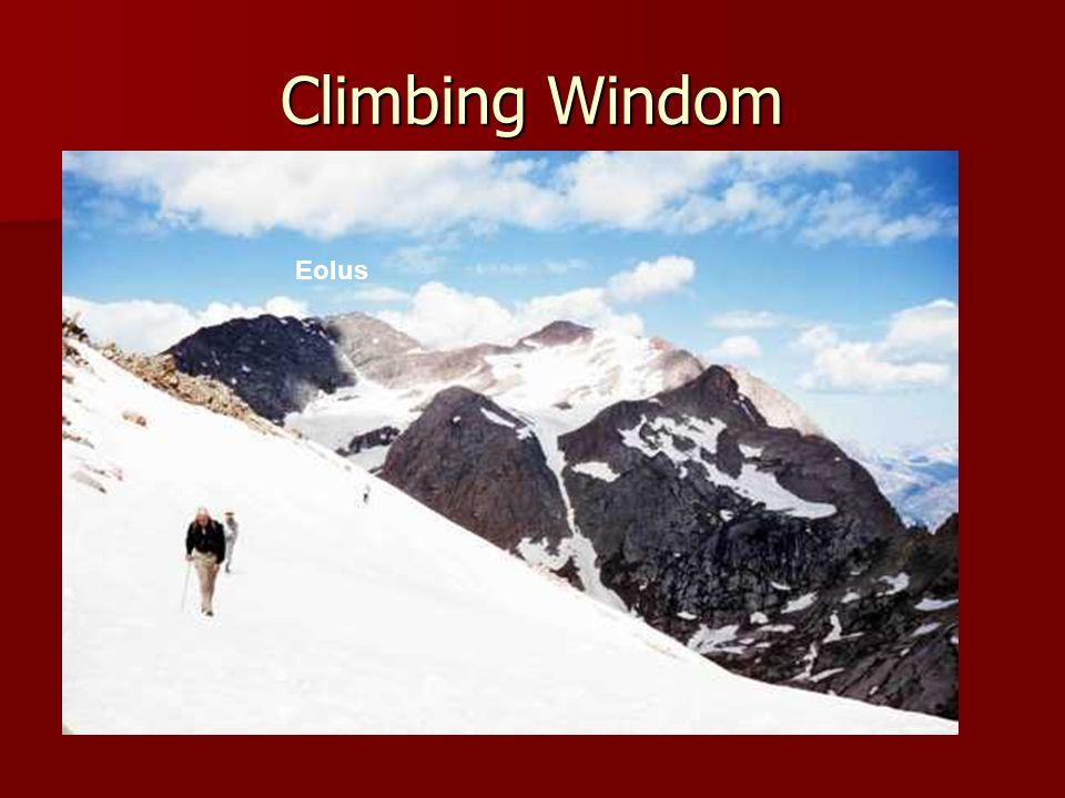 Climbing Windom Eolus