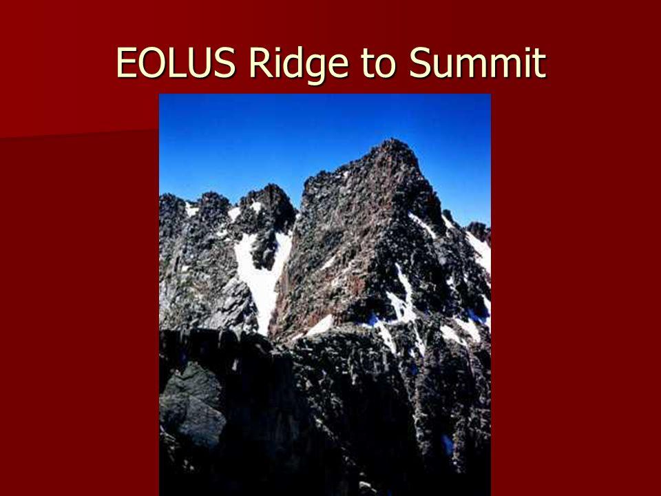 EOLUS Ridge to Summit