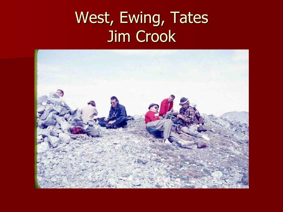 West, Ewing, Tates Jim Crook