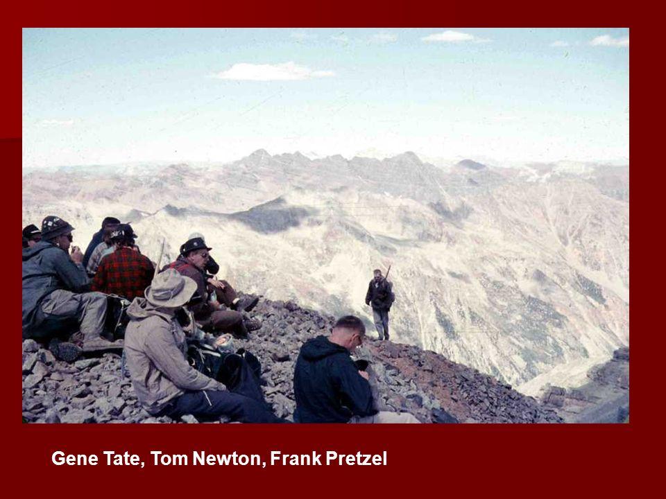 Gene Tate, Tom Newton, Frank Pretzel