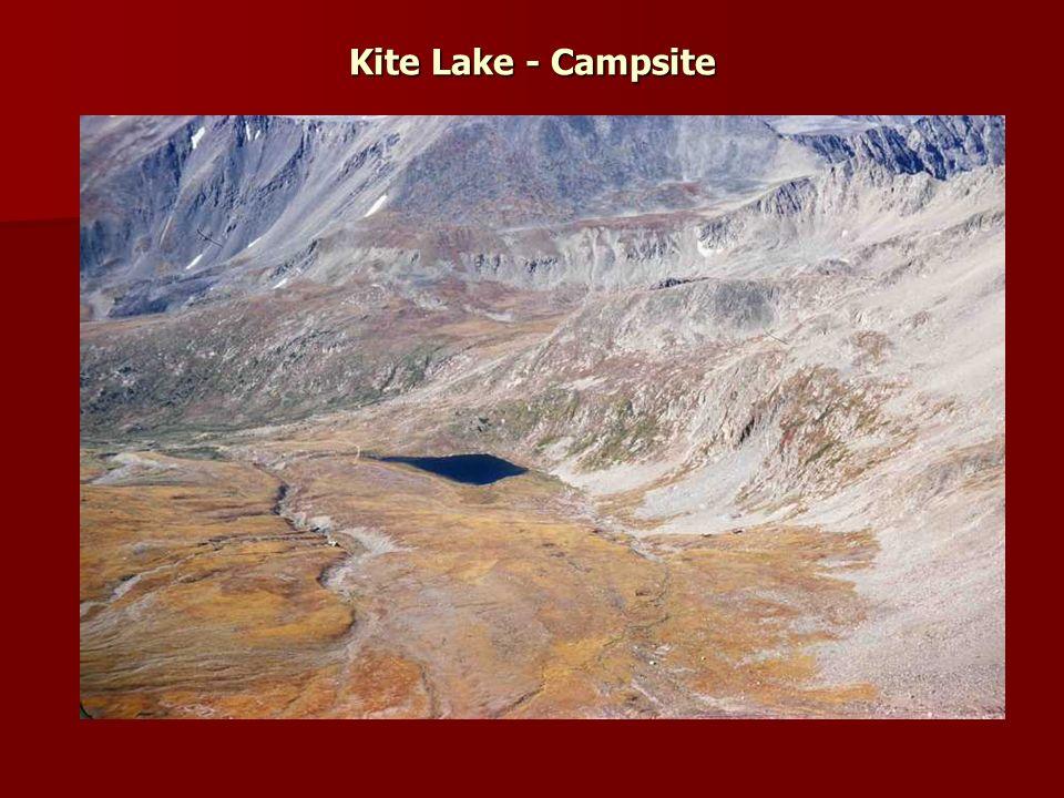 Kite Lake - Campsite
