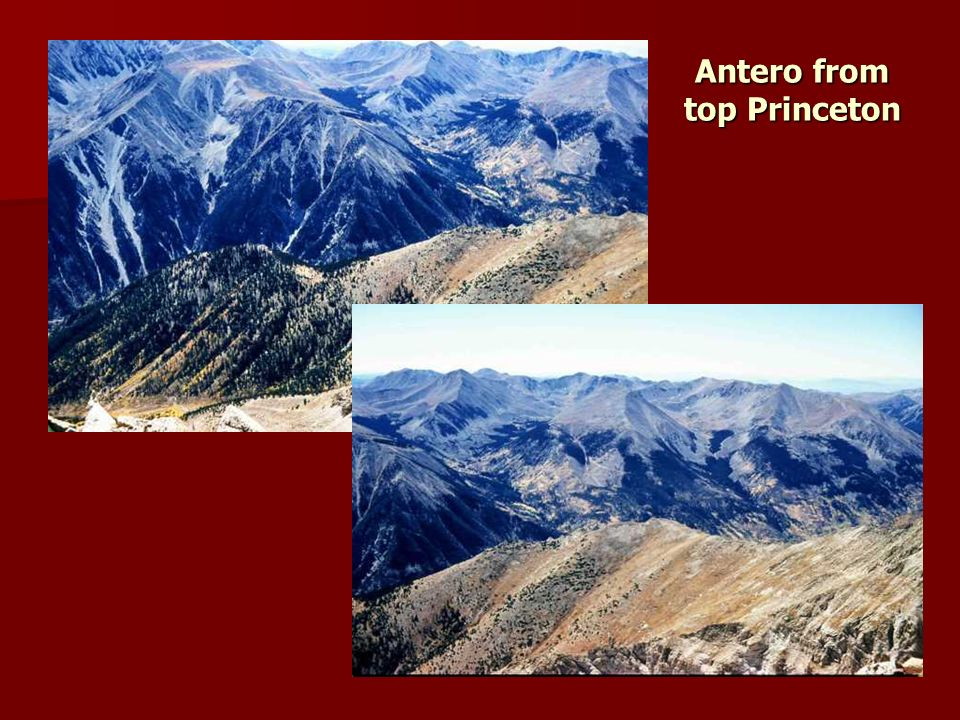 Antero from top Princeton