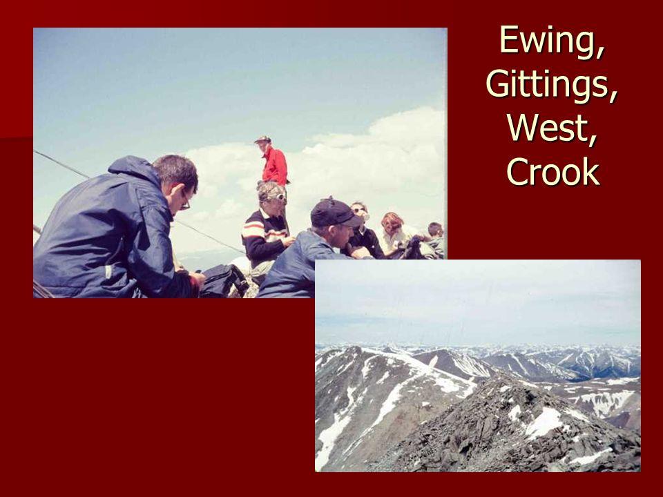 Ewing, Gittings, West, Crook