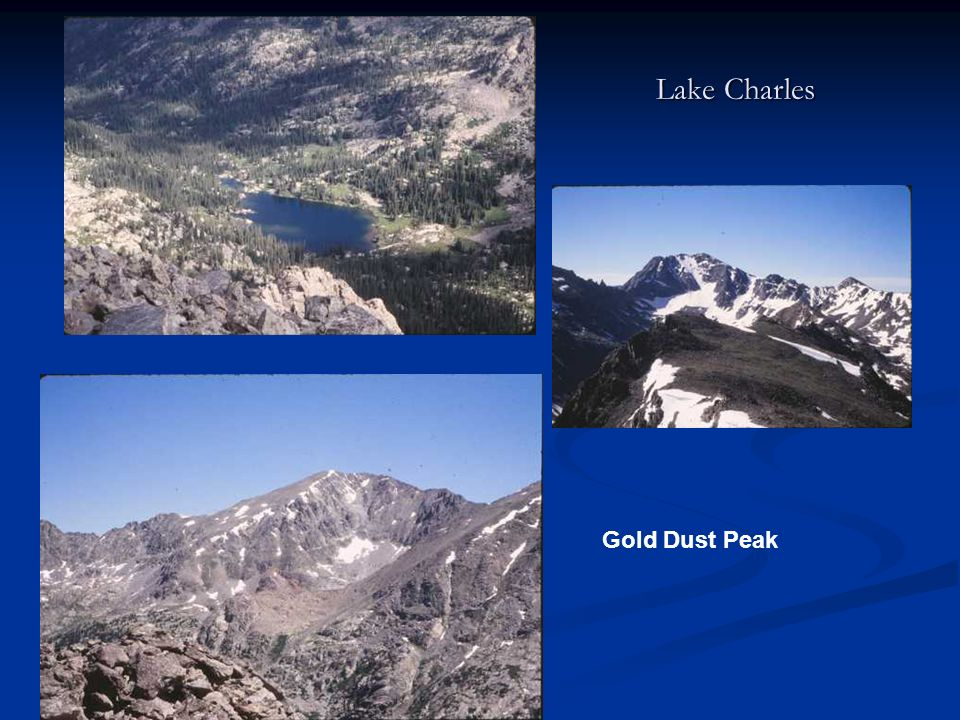 Lake Charles Gold Dust Peak