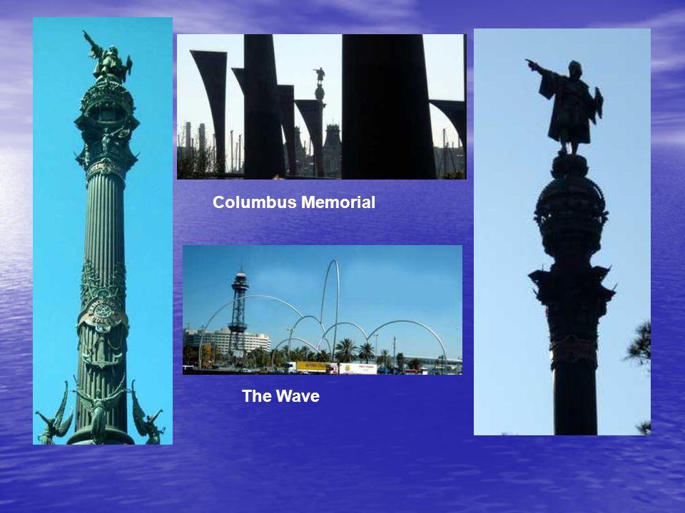 Columbus Memorial The Wave