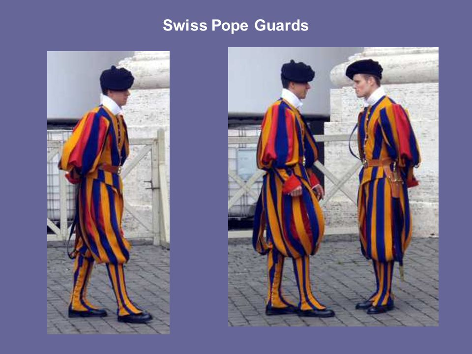 Swiss Pope Guards