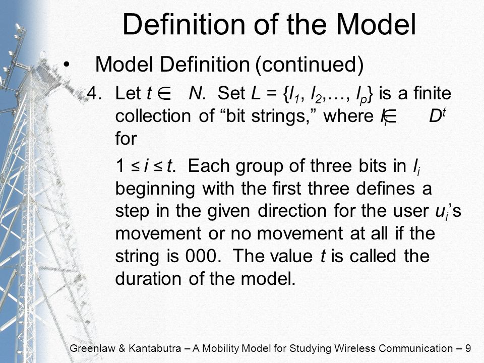 Greenlaw & Kantabutra – A Mobility Model for Studying Wireless Communication – 30 Problem Definitions Sources Reachability Problem –Instance: Mobility model (S, D, U, L, R, V, C, O), two designated sources s a and s b from S, and a time k.