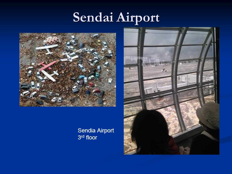 Sendai Airport Sendia Airport 3 rd floor