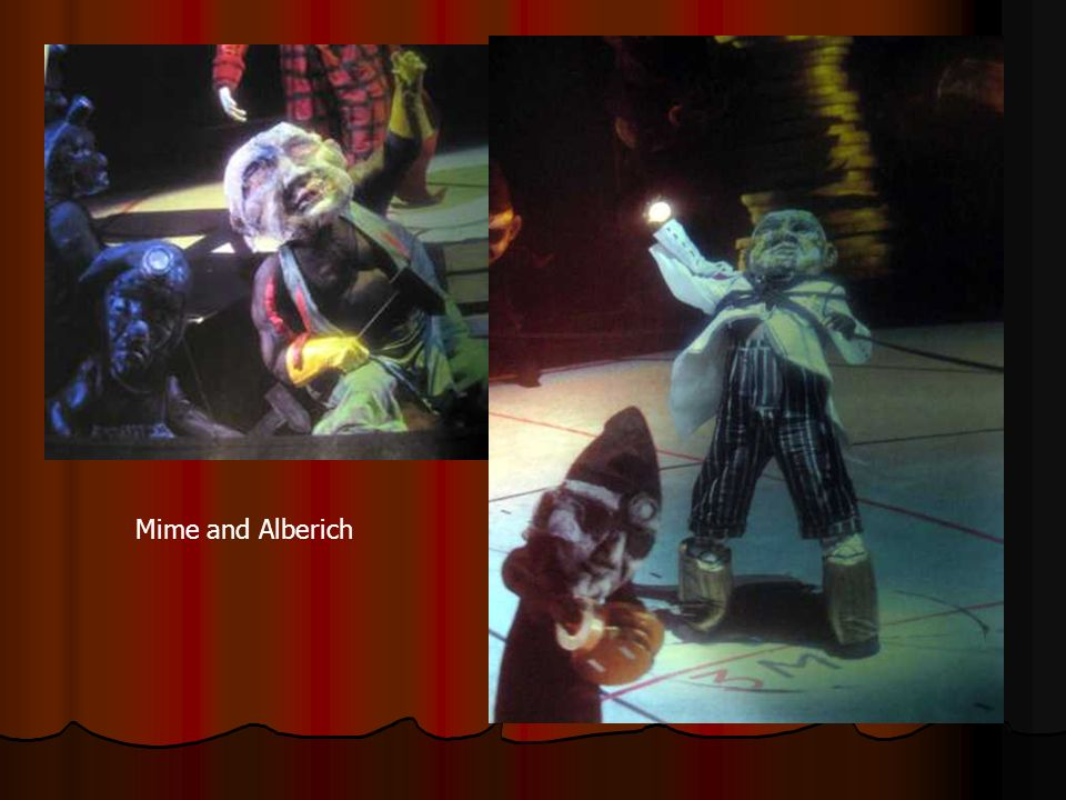 Mime and Alberich