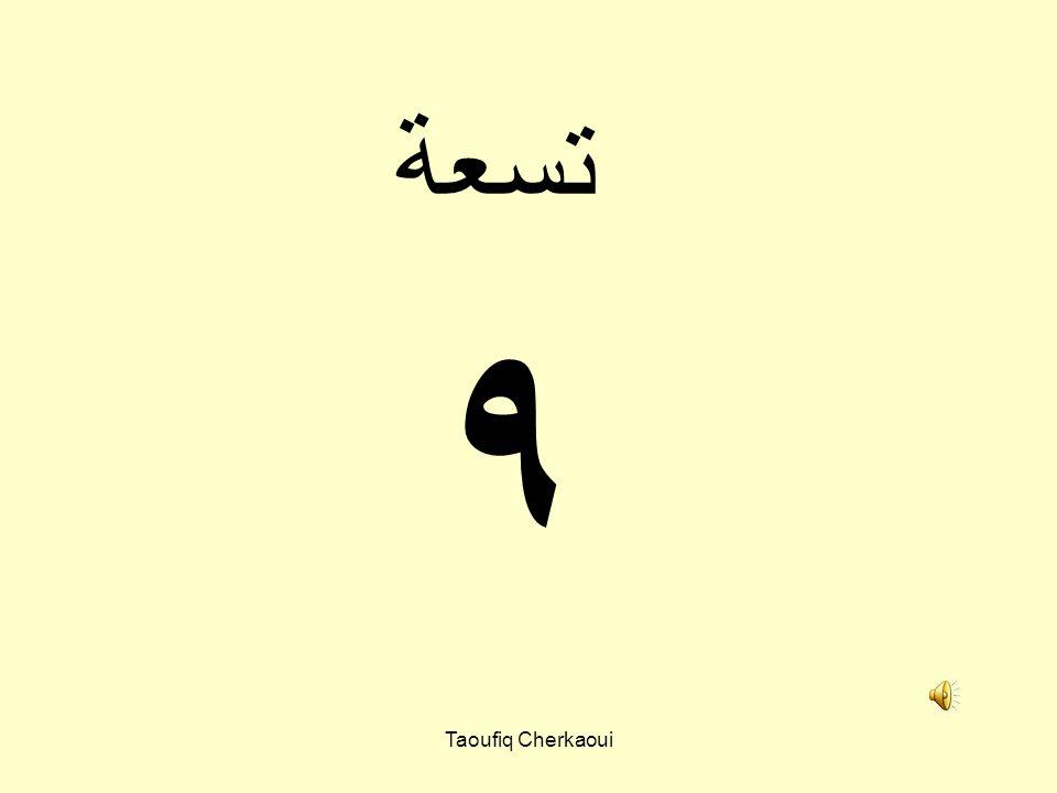 ٨ ثمانية Taoufiq Cherkaoui