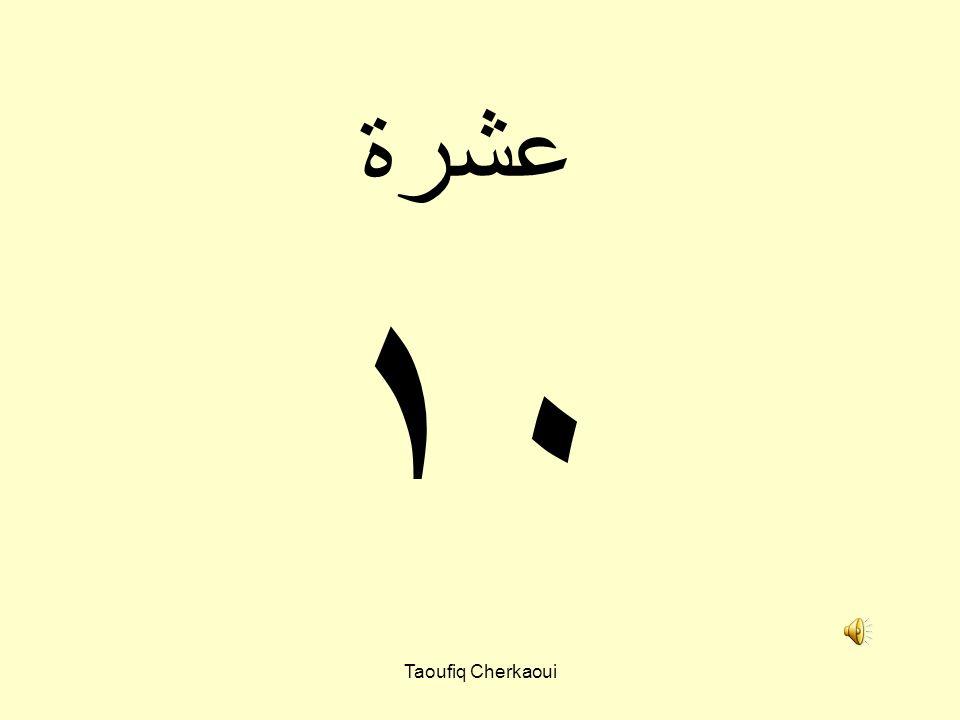٩ تسعة Taoufiq Cherkaoui