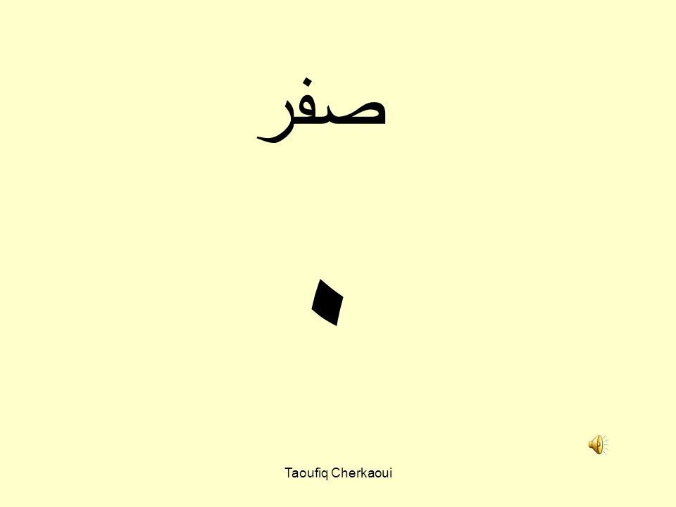 ٠ صفر Taoufiq Cherkaoui